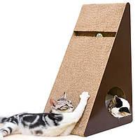 Кігтеточка дряпка лежанка з картону для кішок Avko ACS016L царапка, точилка картонна