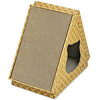 Кігтеточка дряпка лежанка з картону для кішок Avko ACS022 царапка, точилка картонна
