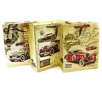 Пакет подарочный Автомобиль 12 шт./упаковка