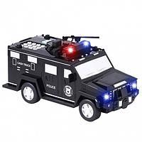Электронная копилка-сейф с кодовым замком и отпечатком пальца машинка Hummer Cach Truck
