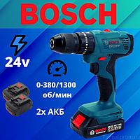 Ударный шуруповерт Bosch (24V 4Ah) | Аккумуляторный шуруповерт Бош 24в | Дрель шуруповерт бош на 24 вольт