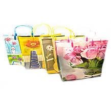 Пакеты подарочные Цветочки 12 шт./упаковка