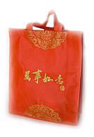 Красный подарочный пакет 12 шт./упаковка