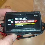 Автоматичний зарядний пристрій Fisher 6/12V 1A, фото 3