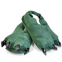 Тапочки лапки зеленые для кигуруми
