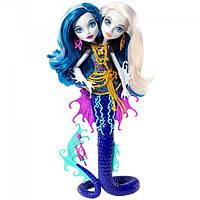 Кукла Monster High Близняшки-змеючки з м/ф Большой монстровый риф (DHB47)