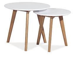 Журнальний стіл Milan S2 Білий