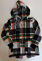 """Рубашка подростковая байковая с капюшоном на девочку 128-152 см """"VANILLA"""" недорого от прямого поставщика"""