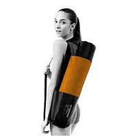 Чехол на коврик для йоги PowerPlay 4155 Черный