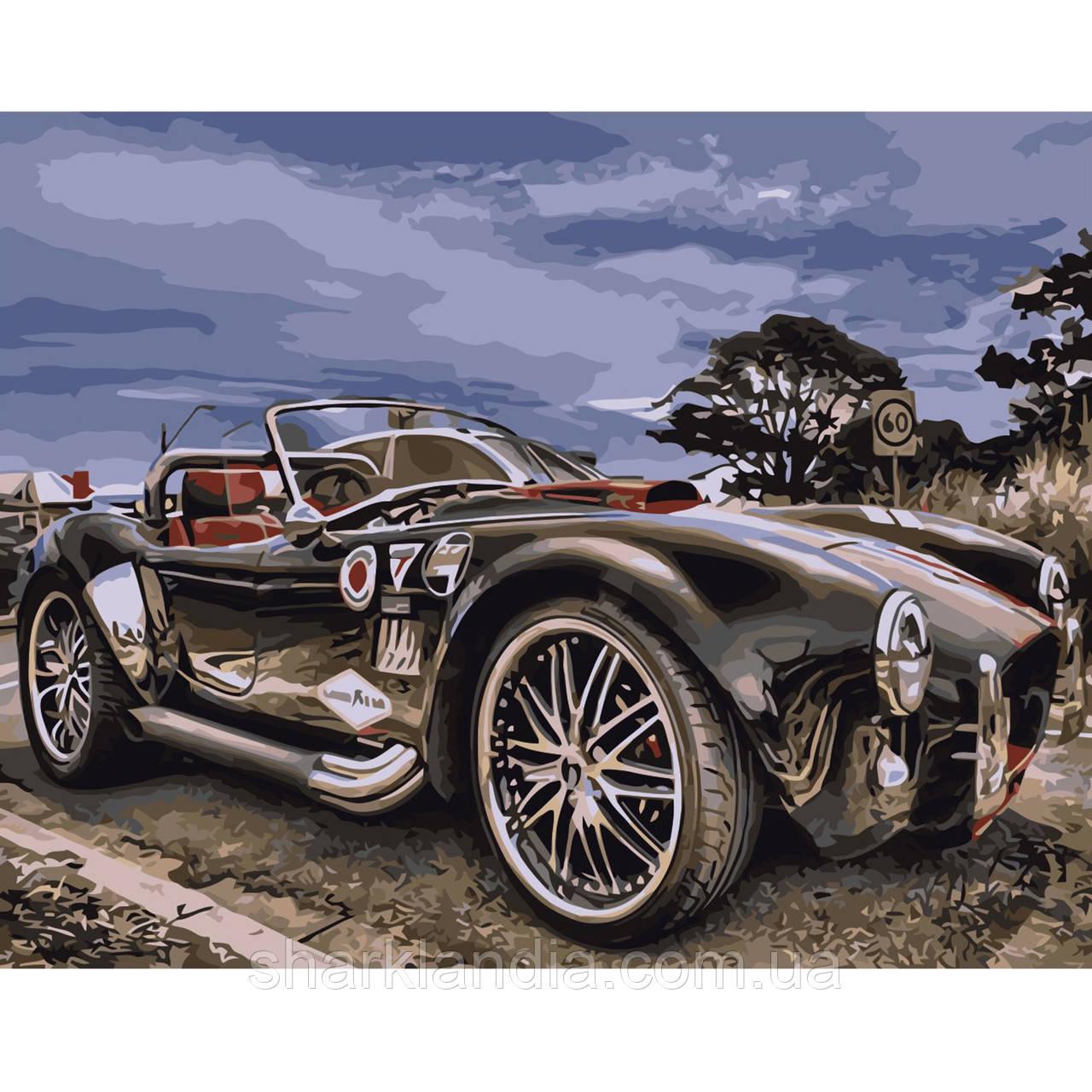 Картина по Номерам Ретро автомобиль 40х50см Strateg