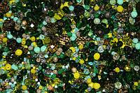 Бусины хрустальные премиум  от  2 мм до 12 мм. Зелёные оттенки.