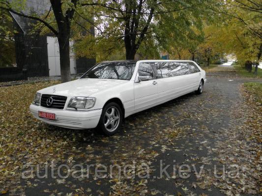 """Оренда лімузина Mercedes """"De Luxe"""""""