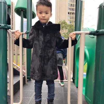 Шубка для хлопчика з натурального хутра Грег, фото 2