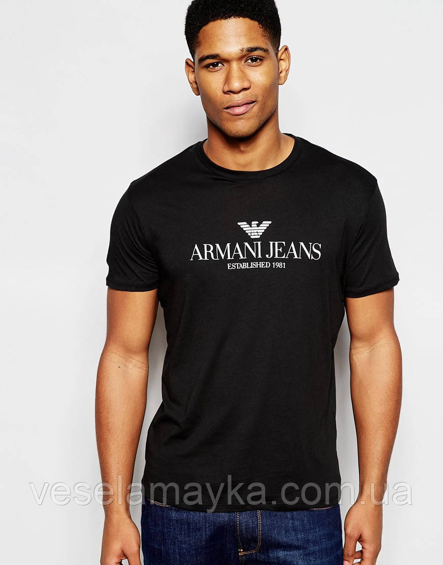 Купить Футболка Armani Jeans (Армани Джинс)