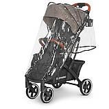 Прогулочная коляска с москитной сеткой, чехлом для ножек, сумкой «EL CAMINO» ME 1090L LOONA Beige, бежевый, фото 7