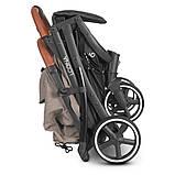 Прогулочная коляска с москитной сеткой, чехлом для ножек, сумкой «EL CAMINO» ME 1090L LOONA Beige, бежевый, фото 8