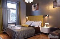 Квартира со стеклянной стеной в ванной на Крещатике, 4х-комнатная (58417)