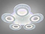 Светодиодная люстра с диммером и LED подсветкой 125W, фото 2