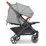Дитяча коляска-прогулянка з москітною сіткою і сумкою для перевезення «EL CAMINO» ME 1090L LOONA Gray, сірий, фото 4