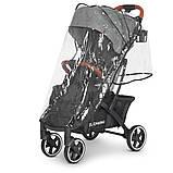 Дитяча коляска-прогулянка з москітною сіткою і сумкою для перевезення «EL CAMINO» ME 1090L LOONA Gray, сірий, фото 8