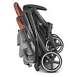 Дитяча коляска-прогулянка з москітною сіткою і сумкою для перевезення «EL CAMINO» ME 1090L LOONA Gray, сірий, фото 9