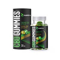 Желейные конфеты КБД CBD Gummies Reakiro Medic 300 мг 30 шт Apple & Lemon