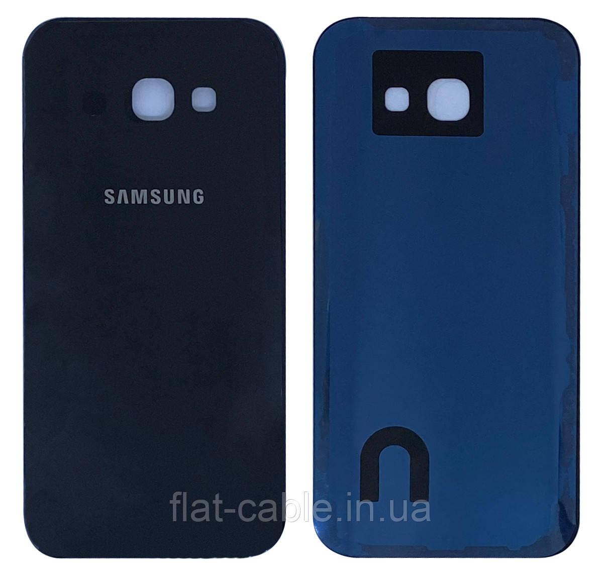 Крышка задняя Samsung A520 Galaxy A5 (2017) Черная