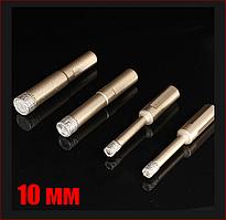 Сверло алмазное по керамограниту 10 мм спеченный алмаз с парафином Craft