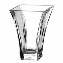 Ваза для цветов Pasabahce Botanica h20 см стекло, Ваза для цветов из стекла, Стеклянная ваза для цветов 20 см