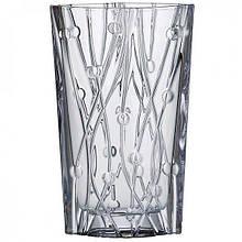 Ваза для цветов Bohemia Labyrinth h30,5 см богемское стекло, Ваза из богемского стекла, Стеклянная ваза 30,5см