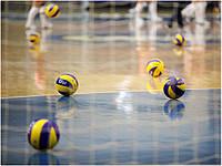 Волейбольные мячи.
