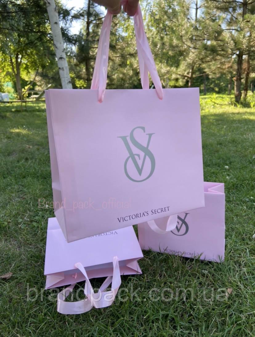 Пакет паперовий Victoria Secret середній (L) Новинка 2021