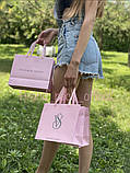 Пакет бумажный Victoria Secret средний (L) 2021 Новинка, фото 2