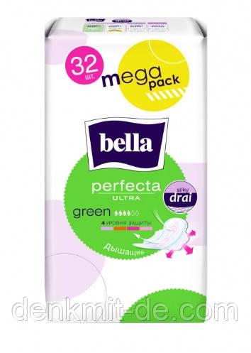 Прокладки Bella Perfecta Ultra Green 32 шт