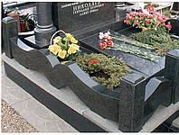 Оградки из гранита для кладбища (гранитные ограждения на могилу)