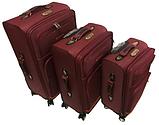 Тканевые Чемоданы на 4 колеса, разных размеров и цветов My travel, фото 2