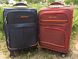 Тканевые Чемоданы на 4 колеса, разных размеров и цветов My travel, фото 3