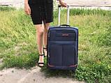 Тканевые Чемоданы на 4 колеса, разных размеров и цветов My travel, фото 4