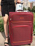 Тканевые Чемоданы на 4 колеса, разных размеров и цветов My travel, фото 5