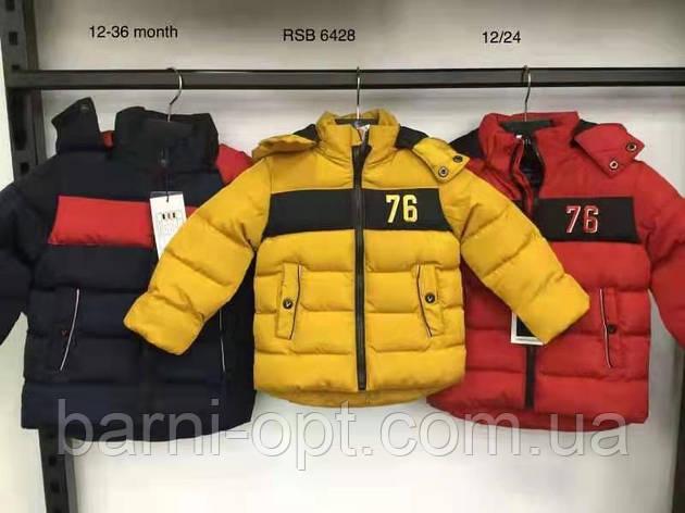 Куртки зимние на мальчика оптом, Nature, 12-36 рр, фото 2