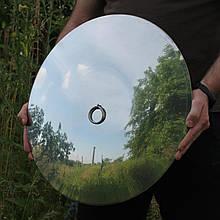 Кришка з нержавіючої сталі для сковорідки з диска, борони 50см