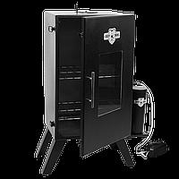 Стальная коптильня холодного копчения с дымогенератором с конденсатосборником Daddy Smoke 66х38х31 до 10 кг
