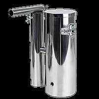 Дымогенератор для холодного и горячего копчения Daddy Smoke нержавейка 1,5 литра с конденсатосборником