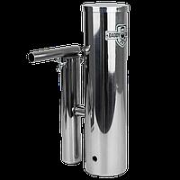 Дымогенератор для холодного и горячего копчения Daddy Smoke нержавейка 2,5 литра с конденсатосборником