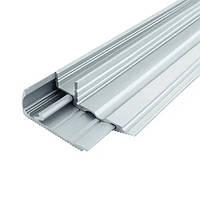 Профиль алюминиевый накладной 22х60 LPS-22 анодированный без рассеивателя 2м (цена 1м) BIOM