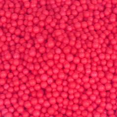 Пенопластовые шарики 2-3 мм Малиновые (1000 мл)