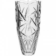 Ваза для цветов Bohemia Pinwheell h20 см богемское стекло, Ваза для цветов стекло, Стеклянная ваза для цветов