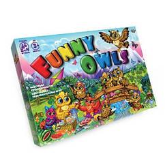 """Настольная игра """"Funny Owls"""" Danko Toys DTG98"""