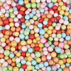 Пенопластовые шарики 2-3 мм Ассорти яркое (1000 мл)