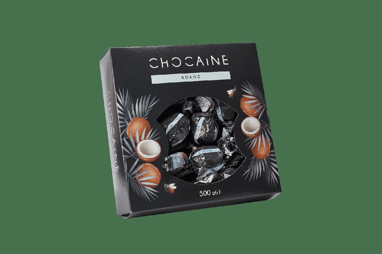 Конфеты CHOCAINE «Кокос» 500Г